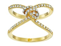 Kate Spade Infinity Beyond Pave Knot Ring Clear Gold Ring