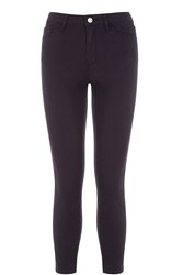 Warehouse Cropped Signature Skinny Jeans Navy