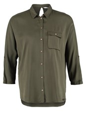 Only Onlcharlotte Shirt Grape Leaf Dark Gray