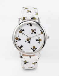 Asos Honey Bee Watch White