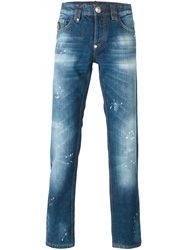Philipp Plein 'Nothing' Jeans Blue