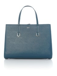Hugo Boss Norah Blue Tote Bag Blue