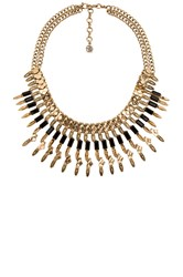 Samantha Wills Wild Fox Chain Necklace Metallic Gold