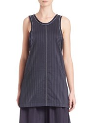 3.1 Phillip Lim Sleeveless Hoosier Tank Ink Lavendar