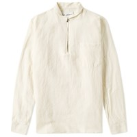 Our Legacy Shawl Zip Shirt White