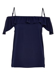 Louche Sinead Top Navy