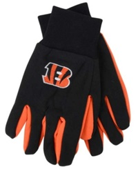 Forever Collectibles Cincinnati Bengals Palm Gloves Black
