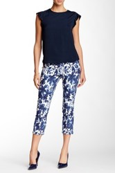 Insight Printed Techno Pull On Cropped Pant Multi