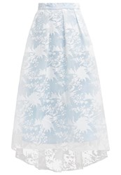 Chi Chi London Mae Maxi Skirt Blue Light Blue