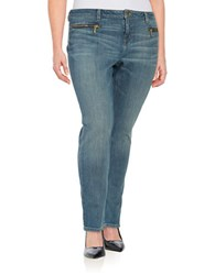 Michael Michael Kors Plus Four Pocket Skinny Jeans Verushka