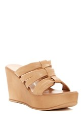 Athena Alexander Alma Wedge Sandal Orange