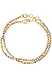 Carolina Bucci Disco Ball Set Of Two 18 Karat Gold Bracelets