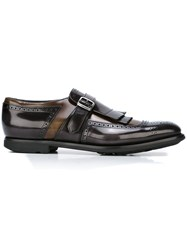 Church's 'Shanghai' Monk Shoes Grey
