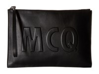 Mcq By Alexander Mcqueen Smooth Pouch Black