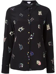 Lala Berlin Printed Shirt Black
