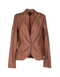 Nolita Suits And Jackets Blazers Women Brown