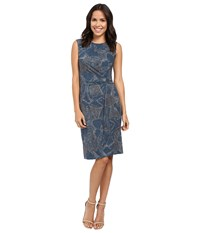 Nic Zoe Broken Pottery Twist Dress Multi Women's Dress