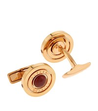 Dunhill Rose Gold Ruby Cufflinks Unisex