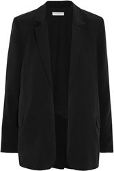 Equipment Mitchell Washed Silk Blazer Black