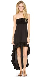 Juicy Couture Bow Chic Cover Up Dress Black