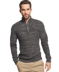 Vince Camuto Mixed Knit Sweater
