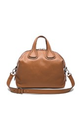 Givenchy Nightingale Medium Bag In Brown