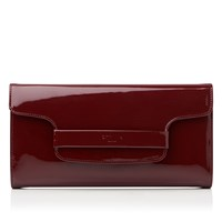 Lk Bennett Laura Clutch Bag Red