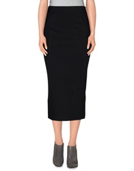 Numph 3 4 Length Skirts Black