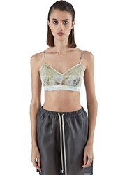 Calyx Ceres Silk Bralette Green
