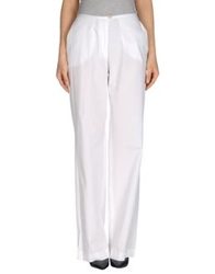 Fairly Casual Pants White