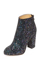 Charlotte Olympia Alba Booties Night Sky Blue