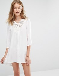 Vero Moda Tunic Dress Snow White