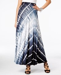 Inc International Concepts Tie Dyed Maxi Skirt Only At Macy's Tropical Tie Dye