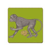 Avenida Home Puddin' Head Animaux Placemat Monkey