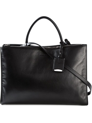 Jil Sander 'Light Zipper' Tote Black