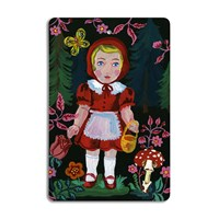 Avenida Home Nathalie Lete Cutting Board Red Riding Hood