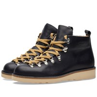 Fracap M120 Natural Vibram Sole Scarponcino Boot Blue