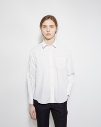 Sacai Lace Back Shirt Off White