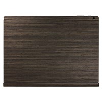 Toast Wooden Surface Book Cover Ebony
