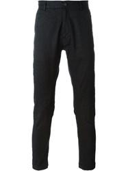 Isabel Benenato Skinny Trousers Black