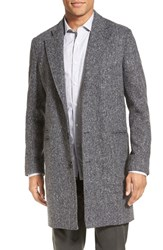 Billy Reid Men's 'Charles' Herringbone Single Breasted Coat