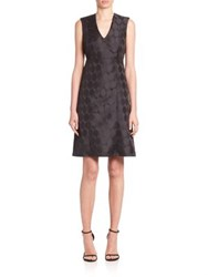 Piazza Sempione Sleeveless A Line Dress Black