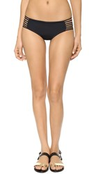 Stone Fox Swim Maui Bikini Bottoms Black