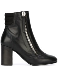 Diesel Side Zip Boots Black