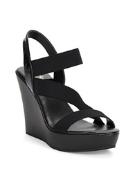 Charles By Charles David Patty Platform Wedges Black