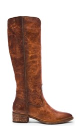 Frye Ray Seam Tall Boot Cognac