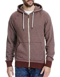 Bench Long Sleeve Cotton Hoodie Brown