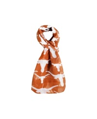 Forever Collectibles Texas Longhorns All Over Logo Infinity Scarf Orange