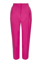 Topshop Tall Structured Peg Trouser Pink