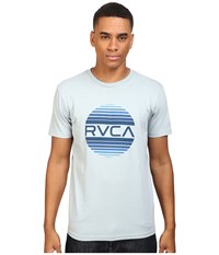 Rvca Sanborn Gradient Tee Arona Blue Men's T Shirt